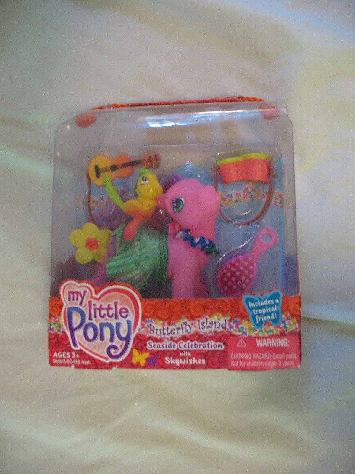 My Little Pony 'Sky Wishes' Butterfly Island - - - Seaside Celebration Set 2004 G3 b8e066