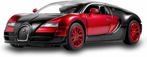 Bugatti Veyron 1:32 Alloy Diecast car Model Collection LightSound Red