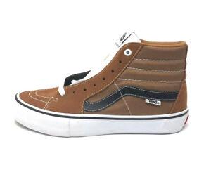 139ef8ee08 Vans Sk8 Hi Pro Glazed Ginger Men s 8.5 Skate Shoes New Burnt Orange ...