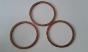 10 Stück Kupferdichtring  Dichtung Kupfer 26x32x2 mm DIN 7603  Form A