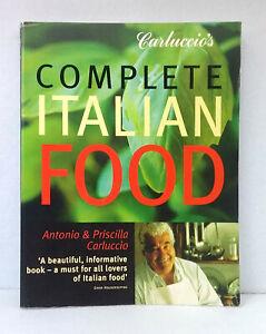 Carluccio-039-s-Complete-Italian-Food-by-Antonio-Priscilla-Carluccio-used-paperback