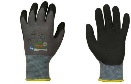 3 Paar orig Profi-//Montagehandschuhe der Spitzenklasse Gr.6 Ninja Maxim®-Cool