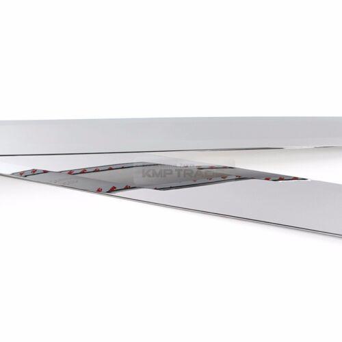 Chrome Rear Trunk Molding Cover Lip Garnish Trim 1ea for KIA 16-18 Optima MX SX