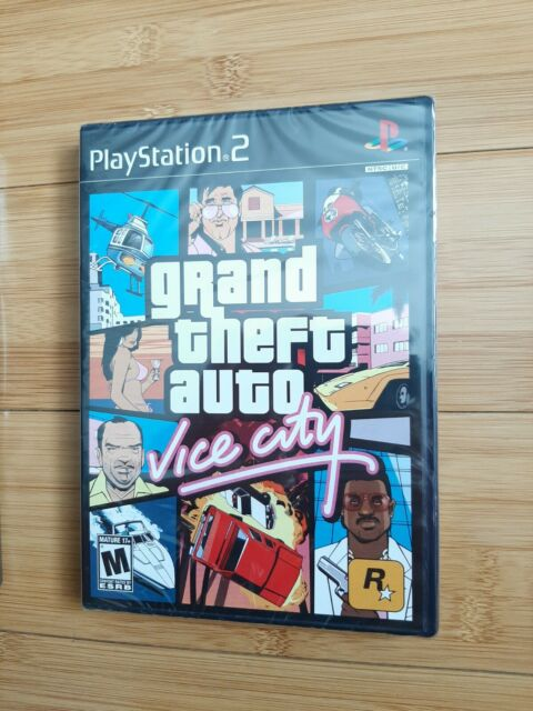 * PS2 Grand Theft Auto VICE CITY GTA * NEW & SEALED ** MINT ** WATA OR VGA READY