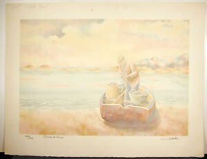 Fisherman-Dream-Catcher-Num-130-300-Signed-Salvador-Lam-Fisherman