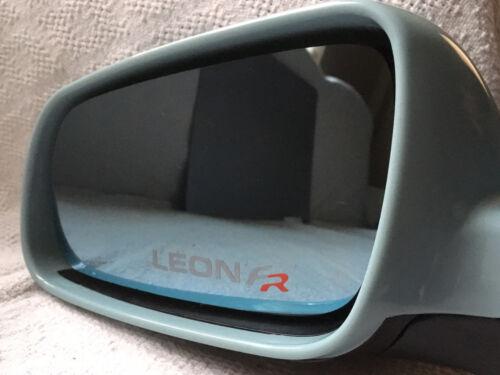 3 x leon fr aile miroir givré voiture autocollants//decals