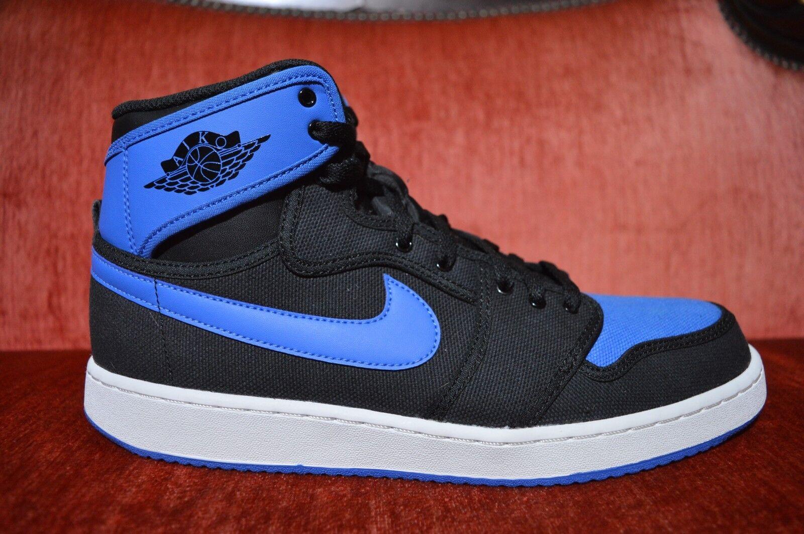 Nike Air Jordan I Retro 1 KO HIGH OG AJKO BLACK SPORT ROYAL blueE WHITE BRED 11