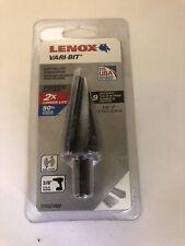 "1//2/"" #1 VB1 Vari-Bit Step Drill 30881 NEW IN PACKAGE Lenox 1//8/"""