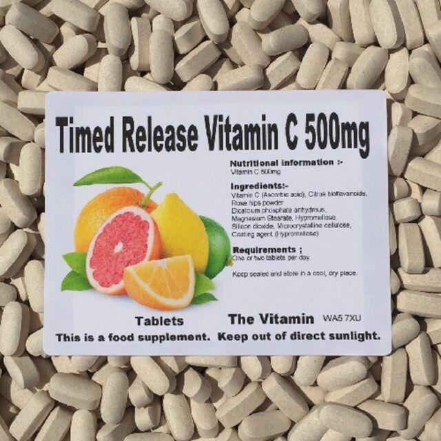 Il Vitamina a Rilascio Controllato Vitamin C 1000mg 365 Compresse IN Bustina