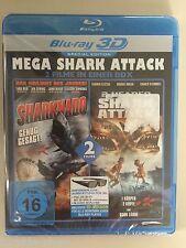 BluRay 2 Filme Sharknado & 2-Headed Shark Attack