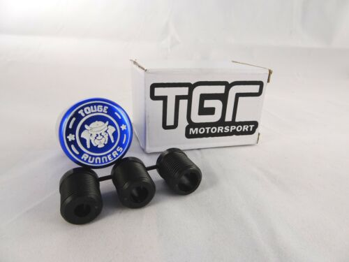 TGR Motorsport Touge Runners Blue Weighted Racing Gear Knob Shifter