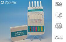 10 Panel Drug Test Kit - Drug Tests MARIJUANA COCAINE OPIATES - FDA Cleared