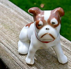 Vintage-FRENCH-BULLDOG-Made-in-Japan-Chip-in-right-foot-Boston-terrier