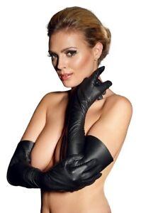 Leder-Handschuhe-S