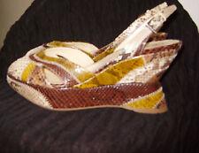 Prada Schuhe Sandalette Pythonleder Pums Gr.39