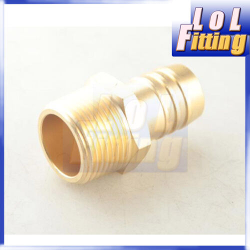 """3//4/""""  Male Brass Hose Barbs Barb to 3//4/"""" NPT Pipe Male Thread"""