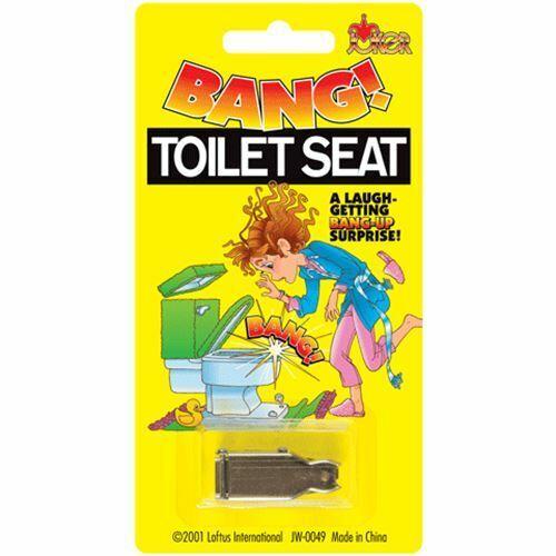 Bang siège de toilette