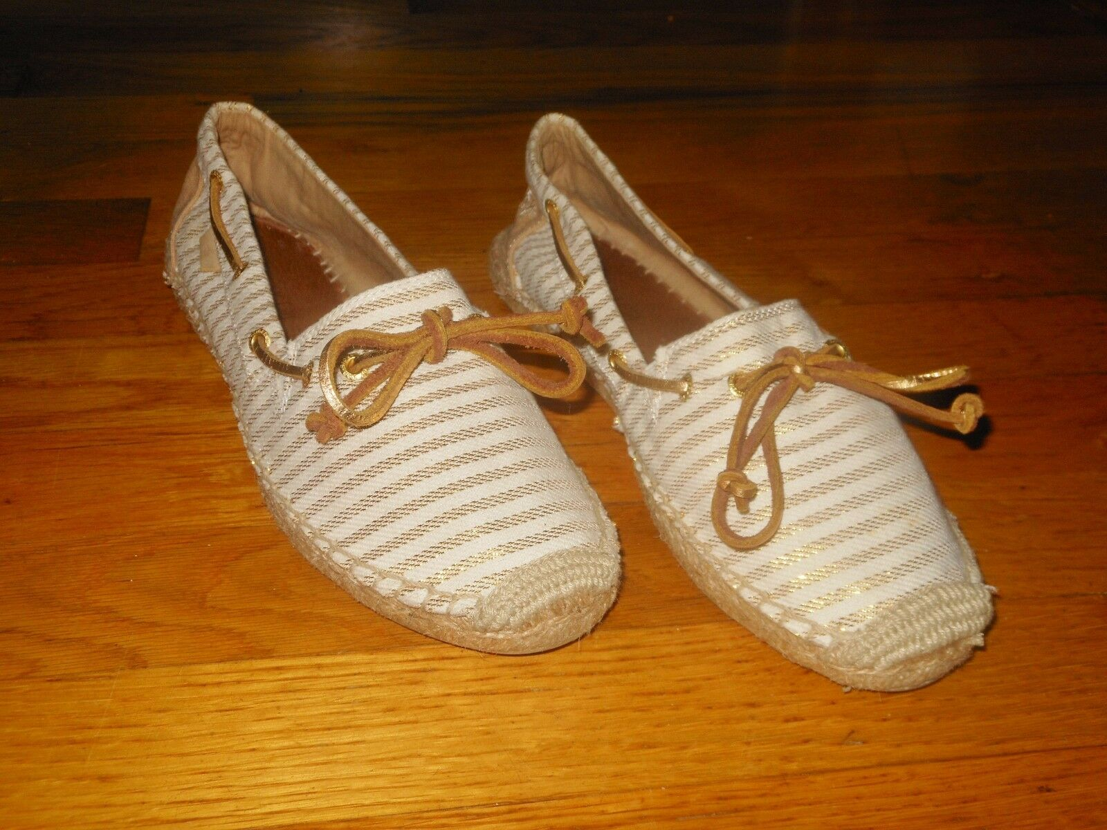 Sperry Top Sider Katama Stripe women's boat shoes - Sz 9.5 M - Excellent cond