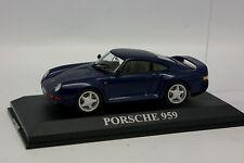 Ixo Presse 1/43 - Porsche 959 Bleue