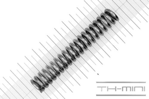 Länge: 101mm Druckfeder Drahtstärke: 3mm Edelstahl Außen Ø: 17mm
