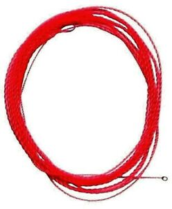 Wonderfurl-RED-Chameleon-Precision-Tapered-Furled-Fly-Fish-Leaders-Tippet-Ring