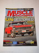 Hemmings Muscle MachinesAPRIL 2014 UNRESTORED ICONS
