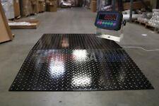 Floorpalletplatform 6000 Lb 48 X 48 Inches Floor Scale With 1 Ramp New