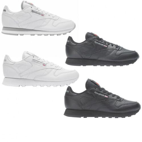Herren Leather Classic Freizeitschuhe Damen Reebok Leder Sneaker Und nNXw0O8PkZ