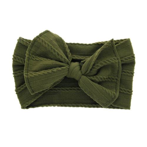 Baby Nylon Knotted Turban Toddler Girls Accessories Headband Bow Hair Kids Band