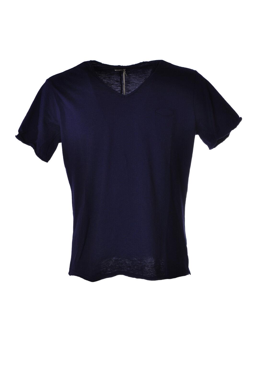 Daniele Alessandrini - Topwear-T-shirts - Mann - blue - 3125615G183925