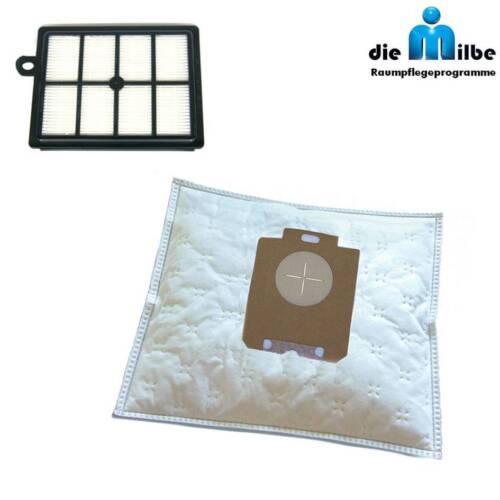 1 HEPA-Filter geeignet für AEG-Electrolux ERGO 20-40-60 Staubsaugerbeutel