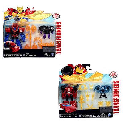 Transformers RID Battle Packs Sideswipe Anvil optimus Prime Bludgeon (G)