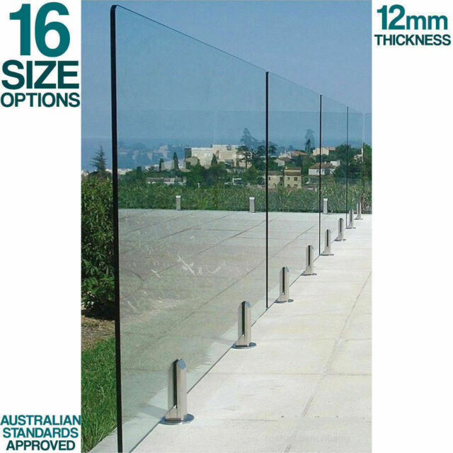 Everton 1200 X 900mm 12mm Glass Pool Fence Mini Post Hinge Panel For Sale Online Ebay
