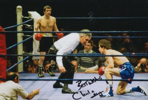 Charlie Magri Hand Signed Boxing 12x8 Photo 3.