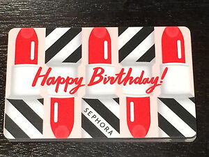Image Is Loading 2015 SEPHORA CANADA Happy Birthday Lipstick Collectible Gift