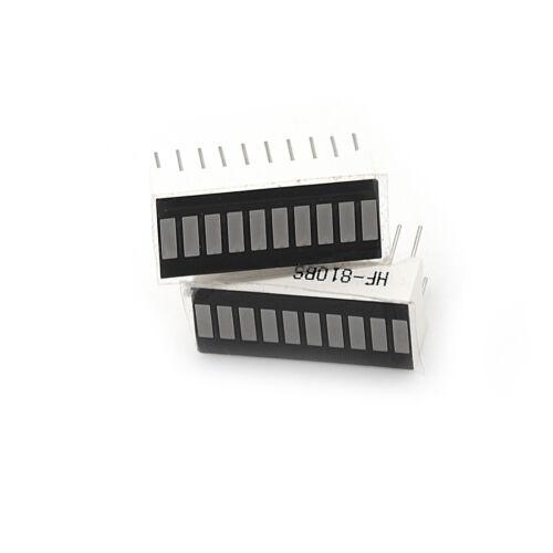 10PCS 10 Segment Digital Red LED Bar Graph Display Ultra Bright TEUS