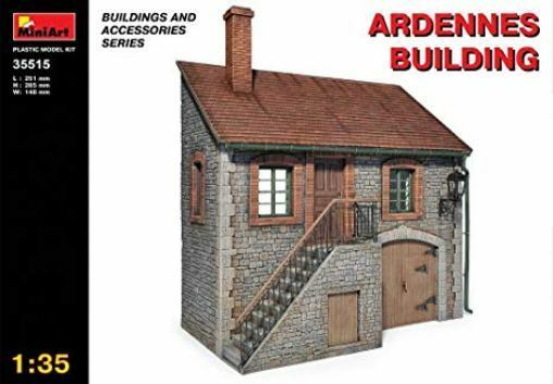 Masterbox 35515 Ardennes Building, mint in sealed box