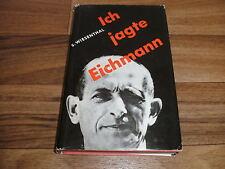 Simon Wiesenthal -- ICH JAGTE EICHMANN  / Nachfolger Heydrich`s Bericht v. 1961