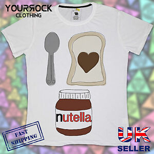 I LOVE NUTELLA , MENS T SHIRT, DESIGNER, SUMMER SHORT ...