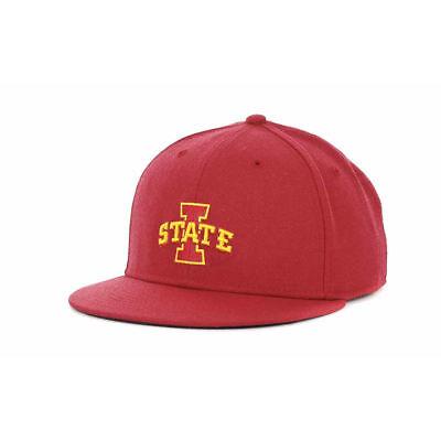 timeless design 4450c 52496 Iowa State Cyclones Nike NCAA Wool True Fitted Flat Bill Brim Cap Hat Ames  ISU 7