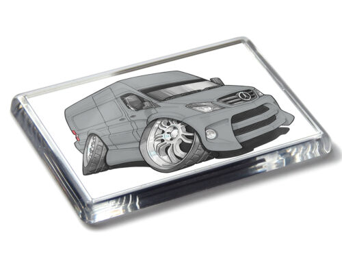 Koolart Cartoon Auto Sprinter Transporter Stark Acryl Kühlschrank Magnet Wähle A