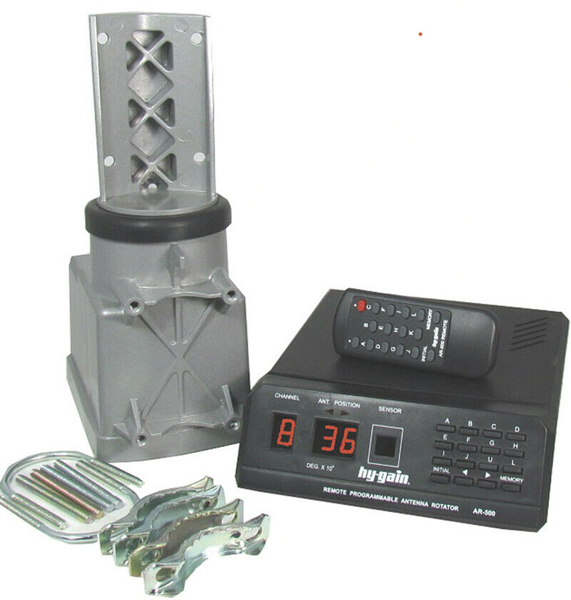 Hy-Gain AR-500 Remote Controlled Rotator/Controller for Small Antennas. Available Now for 199.95