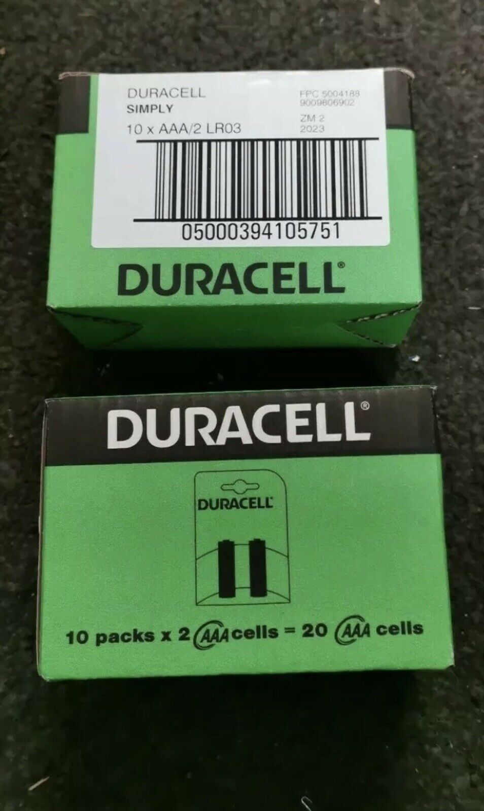 40x DURACELL SIMPLY AAA (40 BATTERIES) Fast Dispatch