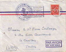 VAR - TOULON - LABORATOIRE DE CHIMIE ANALITIQUE - MARINE-TOULON -FM DU 31-5-1963
