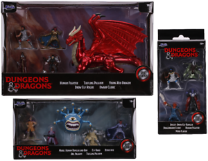 Jada Dungeons & Dragons 2020 Figures - Full Set of 3 - In Hand & Ready to Ship