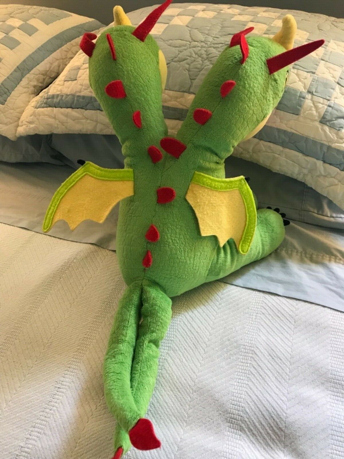 Build A Bear How To Train Your Your Your Dragon BARF & BELCH 2 Headed Plush Dragon w Sound 4aafe7