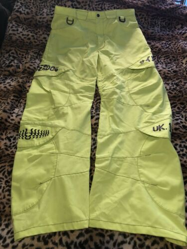 Cyberdog Rave Protonic Pants Day glow Yellow Club