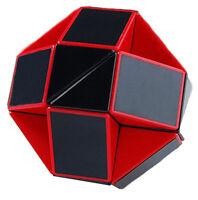 Shengshou Snake Magic Ruler Twist Puzzle Black Red Brain Teaser Development Toys