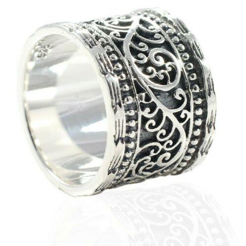Devata Bali Classique Argent Sterling 925 Ring DCM2312TT