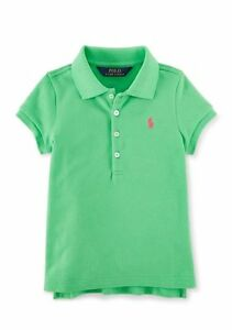 ce7f239c NWT Polo Ralph Lauren Toddler or Little Girls Mesh Polo Pony Logo ...